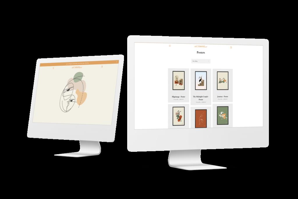 The Undone art website